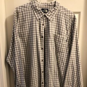 The North Face Button Up Long Sleeve Shirt - XXL